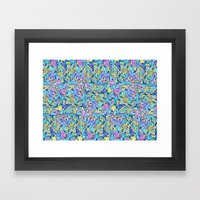 Infinite Scribbles Framed Art Print