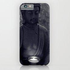 Buddha in the dark iPhone 6 Slim Case