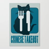 Chinese Takeout Canvas Print