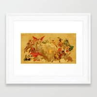 Guys, We're Supposed To Be Having a Picnic... Framed Art Print