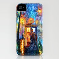 The Doctor Starry The Ni… iPhone (4, 4s) Slim Case