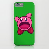 Hungry Hungry Kirby iPhone 6 Slim Case