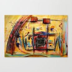 Acryl-Abstrakt 32 Canvas Print