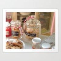 Fresh Cookies Art Print