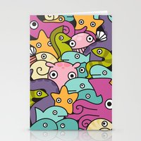 Seafood Stationery Cards