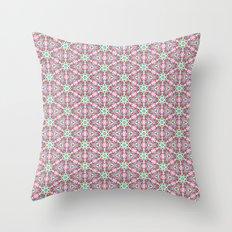 Watercolor Boho Dash 1 Throw Pillow