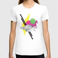 Randomize Womens Fitted Tee White SMALL