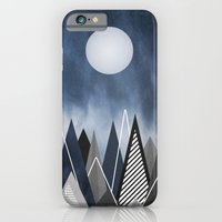 iPhone & iPod Case featuring Midnight Mountains by Digi Treats 2