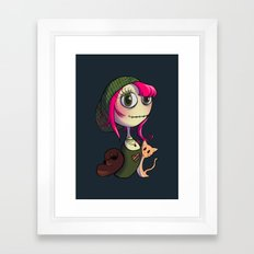 Animal Lover Framed Art Print