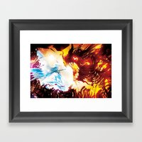 A Dragon Taught Me Fire Framed Art Print