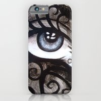 iPhone & iPod Case featuring Eyes of Color by Annette Jimerson