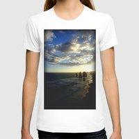 T-shirt featuring Clouds circling the Twelve Apostles by Chris' Landscape Images & Designs