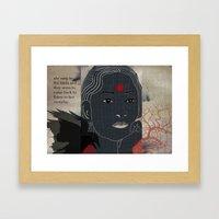 134.b Framed Art Print