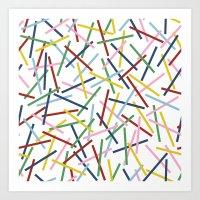 Kerplunk 15 Art Print