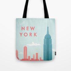 New York New York Tote Bag