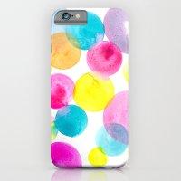 Confetti paint iPhone 6 Slim Case