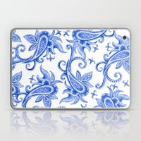 Paisley: Blue China Comb… Laptop & iPad Skin