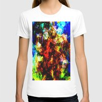 fall T-shirts featuring fall by KrisLeov