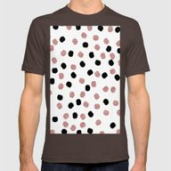 T-shirt featuring Modern Rose Gold Black A… by Girly Trend