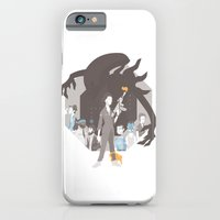 alien iPhone & iPod Cases featuring Alien by Florey