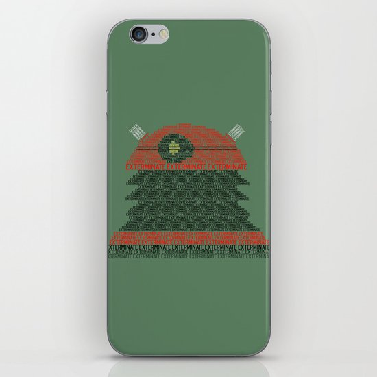 Exterminate (Doctor Who) iPhone & iPod Skin