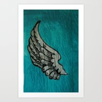 On A Wing And A Prayer Art Print