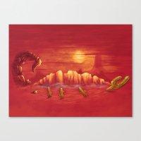 A Desert Scorpion Canvas Print