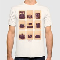 Camera Love Mens Fitted Tee Natural SMALL