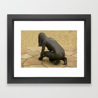 Lady of the Hall Framed Art Print