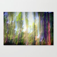 Sun Shower In The Fairy … Canvas Print