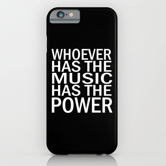 The Power of Music iPhone & iPod Case