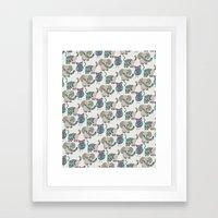 Whimsical Animals Framed Art Print