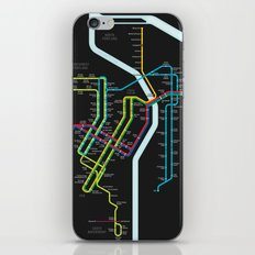 Rail Transit of Portland, Oregon iPhone & iPod Skin