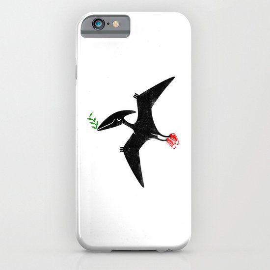 PTERODACTYL OF PEACE iPhone & iPod Case