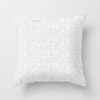 The Great Animal Hunt Throw Pillow
