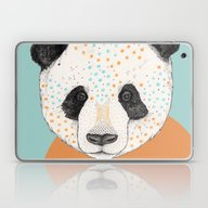 Polkadot Panda Laptop & iPad Skin