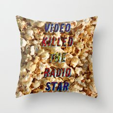 Video killed the Radio Star – A Hell Songbook Edition Throw Pillow