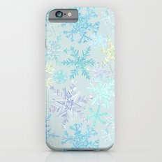 icy snowflakes Slim Case iPhone 6s