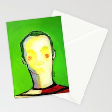 HIDDEN FACE Stationery Cards