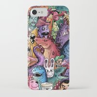community iPhone & iPod Cases featuring Colourful Community by Salih Gonenli