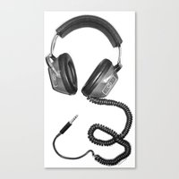 Headphone Culture Canvas Print