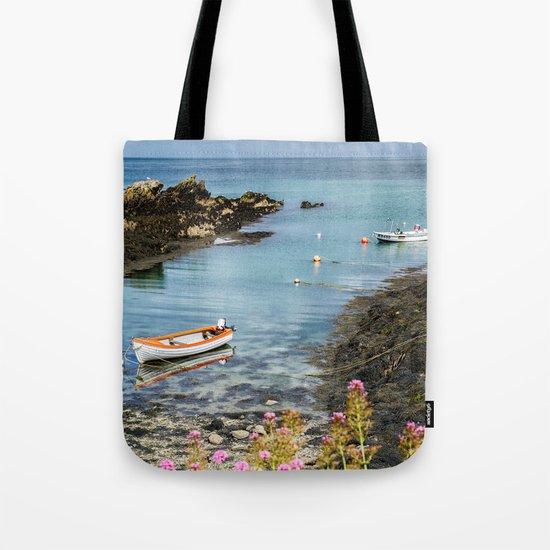 Bull Bay Boats Tote Bag