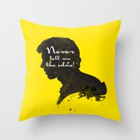 The Odds – Han Solo Si… Throw Pillow