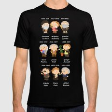 science Black Mens Fitted Tee SMALL