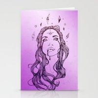 Star Shine || VACANCY Zi… Stationery Cards
