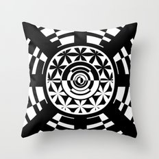 Heavenly Bodies - The Moon Throw Pillow