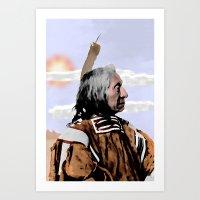 Chief Red Cloud. Oglala … Art Print