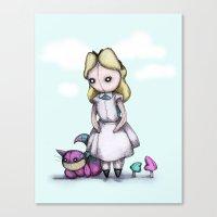 Plush Alice Canvas Print