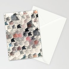 as the curtain falls (variant) Stationery Cards