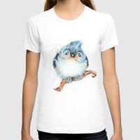 baby T-shirts featuring Baby titmouse by Patrizia Ambrosini